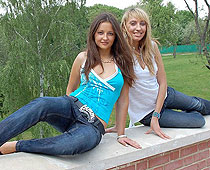 Jeans girlfriends